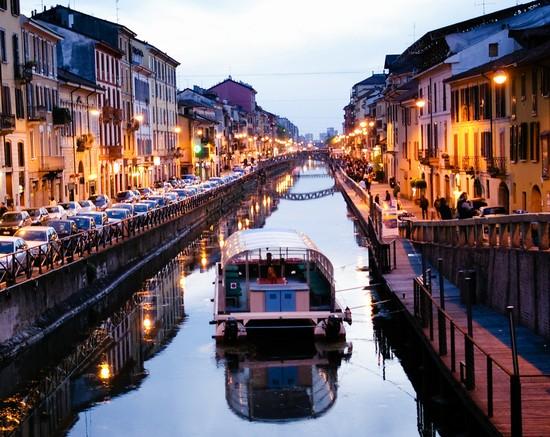 Живописные места в Милане